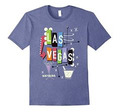 Amazon.com: Las Vegas Nevada Retro: Clothing