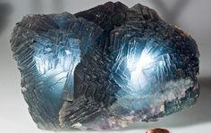 Fluorite (Summit Cleft, Weißeck Mt. area (incl. Rauchkopf Mt.; Riedingscharte), Murwinkel, Lungau, Salzburg, Austria)  via Messing Minerals
