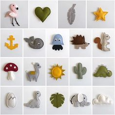 Felt Crafts Diy, Felt Diy, Baby Crafts, Diy Crafts To Sell, Sewing Toys, Baby Sewing, Sewing Crafts, Sewing Projects, Sewing For Kids