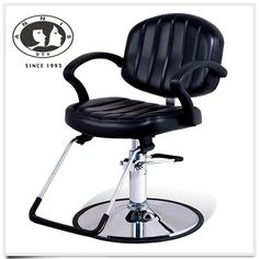 DTY quantity production luxury cheap salon furniture stainless steal base salon chair styling