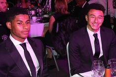Marcus Rashford and Jesse Lingard Jesse Lingard, Marcus Rashford, England Football, Manchester United Football, Soccer Boys, Neymar Jr, Man United, Best Jeans, Football Players