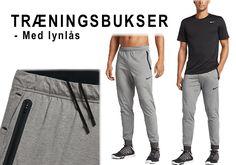 Nike træningsbukser med lynlås til træningscenteret. #nike #træningsbukser #lynlås
