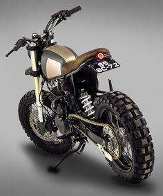ton-up garage muxima honda FMX 650 custom motorcycle Motorcycle Types, Motorcycle Travel, Scrambler Motorcycle, Motorcycle Design, Bobber, Triumph Scrambler, Motorcycle Garage, Custom Choppers, Custom Motorcycles