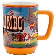 Dumbo 'Movie Moments' coffee mug (2012) from Fantasies Come True
