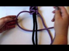 Makrama krok po kroku - splot podstawowy - YouTube