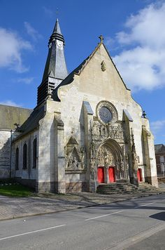 Eglise Saint-Pierre.Mailly-Maillet (Somme) - Picardie