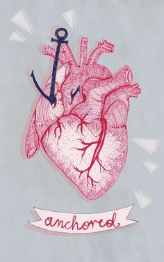 heart and anchor illustration