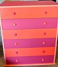An Old Oak Colored Dresser Painted Into Something New For The S Room