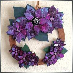 Georgina Ford Poinsettia Wreath (2)
