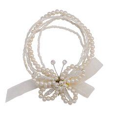 The Wings of a Butterfly Pearl Bracelet