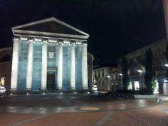 I monumenti e la piazza principale