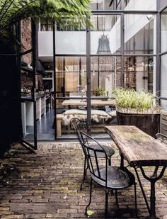 Converted Warehouse Home In Amsterdam.
