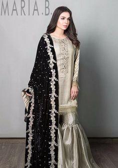 You all should totally check out Maria.B's new Luxury Collection it's Ahmazing Pakistan Shadi Dresses, Pakistani Formal Dresses, Pakistani Wedding Outfits, Pakistani Dress Design, Pakistani Wedding Dresses, Bridal Outfits, Indian Dresses, Indian Outfits, Eid Outfits