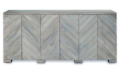 "Penn 80"" Sideboard, Light Graywash Now: $2,159.00 							Was: $2,695.00"