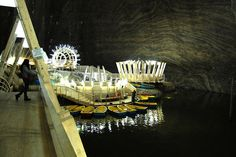 Old Romania Salt Mines Converted Into 370ft Deep Museum - My Modern Metropolis