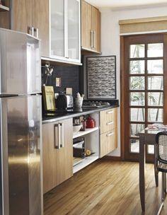 Na cozinha e no banheiro: parece muita coisa, mas vai te ajudar na limpeza à longo prazo.
