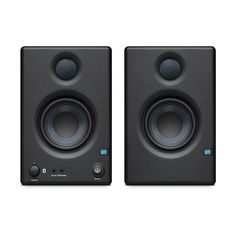 Their compact and powerful design makes them an ideal solution for any small space. Pair compact Eris with PreSonus' powerful Temblor® active subwoofer for a truly full-range sound system that fits almost anywhere. Best Powered Speakers, Line Level, Monitor Speakers, Wireless Speakers, Audio Engineer, Stereo Headphones, Listening To Music, Compact