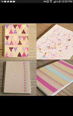 Decora tus cuadernos Yuya
