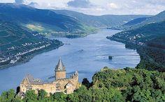 Rhine River Cruise, Germany #Rhineriver #CastlesAlongtheRhine #Uniworldcruises