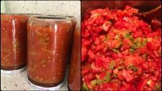 All the details of the canned menemen recipe are in our article for the ladies who prepare for winter and want to consume the natural fruit vegetables of the summer season in winter. Menemen Recipe, Turkish Recipes, Ethnic Recipes, How To Peel Tomatoes, Pasta, Summer Fruit, Stuffed Hot Peppers, Bruschetta, Food And Drink