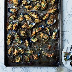 Moules Farcies | Dinner parties made simple thanks to F&W's simple recipes. Read on for more.