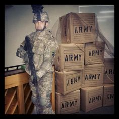 VBS CHARACTER BOOTCAMP Army decor