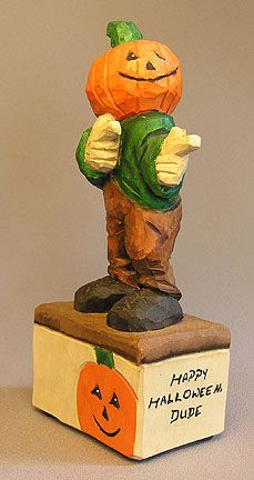 Holiday Carvings | Scott Carvings - Carved by Russell Scott at ScottCarvings.com