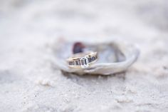 Engagement session on Seagate Beach in Naples, Florida / photo by mariaglassford.com