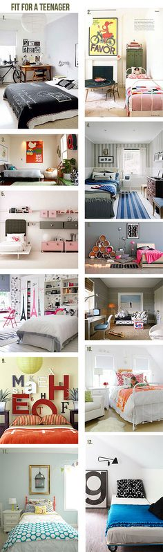 Teenage rooms they'll love!