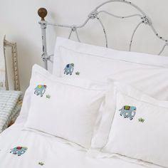Elephant Pillowcase by SARAHK designs | SARAHK designs