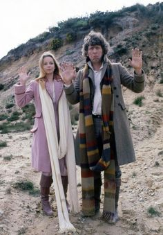 Old Doctor Who - 4th Doctor + Romana 1970s