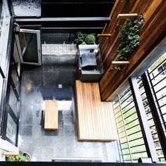 On The Block triple Threat last night we saw the final room reveals. the Terraces. Small Outdoor Patios, Small Backyard Landscaping, Outdoor Rooms, Outdoor Gardens, Outdoor Living, Outdoor Decor, Outdoor Ideas, Patio Ideas, Landscaping Ideas