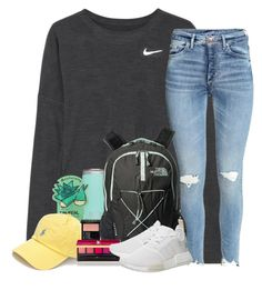 Gucci, the north face, yves saint laurent and adidas back to school outfits, everyday Cute Lazy Outfits, Cute Outfits For School, Simple Outfits, Outfits For Teens, Trendy Outfits, Casual Sporty Outfits, Simple College Outfits, Comfortable Outfits, Teen Fashion Outfits