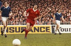Everton 2 Liverpool 2 in April 1977 at Maine Road. The runs away from Kevin Keegan in midfield in the FA Cup Semi Final.