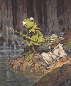 chillin in the swamp.