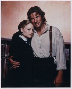 Jodie Foster Richard Gere one 8x10 color photo photograph #182