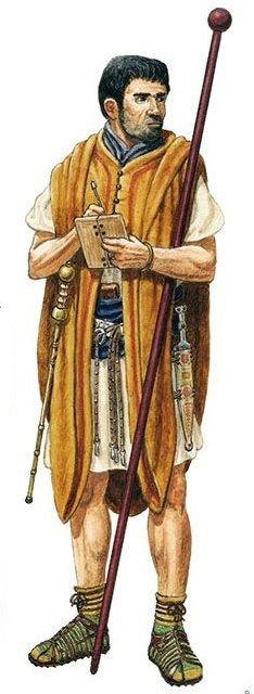 Orden de Batalla. Historia Militar: Las Legiones Romanas. Organización y Rangos. Tesserarius.