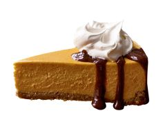 Pumpkin Cheesecake With Bourbon-Spiked Cream from FoodNetwork.com