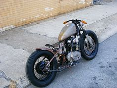 xs650 bobber by pampadori, via Flickr