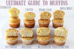 Ultimate Guide to Muffins from handletheheat.com