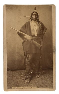 Cross Cabinet Card of Waqin (Pack), Yankton Sioux, Western & Historic Americana, Dec and Native American Music, Native American Images, Native American Tribes, Native American History, Native Indian, Indian Tribes, Native Art, Sioux Nation, Indian Pictures