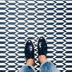 Printed floor at @mariestellamaris_official #Ihavethisthingwithfloors #graphic