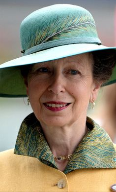 Princess Anne, Princess Royal at the Betfair Weekend King George Day and Summer Garden Party at Ascot Racecourse in Ascot. Princesa Real, Timothy Laurence, Elisabeth Ii, Isabel Ii, Prince Phillip, England, Royal Princess, British Monarchy, Royals