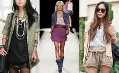 Spring 2014 trend - mesh. Ways to wear it. Middle out but left and right are doable, especially left.