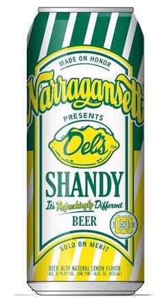 Narragansett Releases Del's Shandy Summer Seasonal       #craftbeer #beer  http://hopsaboutbeer.com