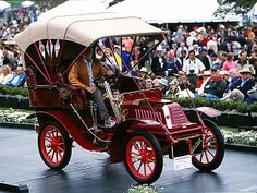 1905 De Dion Bouton Bouton Model Z 8hp Rear Entrance Tonneau. Winner of the…