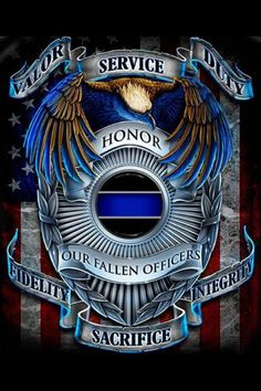 honor our fallen officers