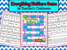 Here's a board game for students to practice identifying states of matter.