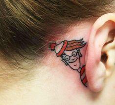 16 tatouages d'oreilles très créatifs - http://www.2tout2rien.fr/16-tatouages-doreilles-tres-creatifs/