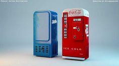 vending machine retro - Pesquisa Google